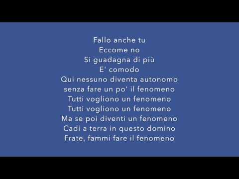 FENOMENO - Fabri Fibra [TESTO]