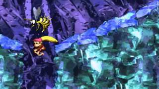 Donkey Kong Country 2 102% Walkthrough : Krem Quay - Black Ice Battle