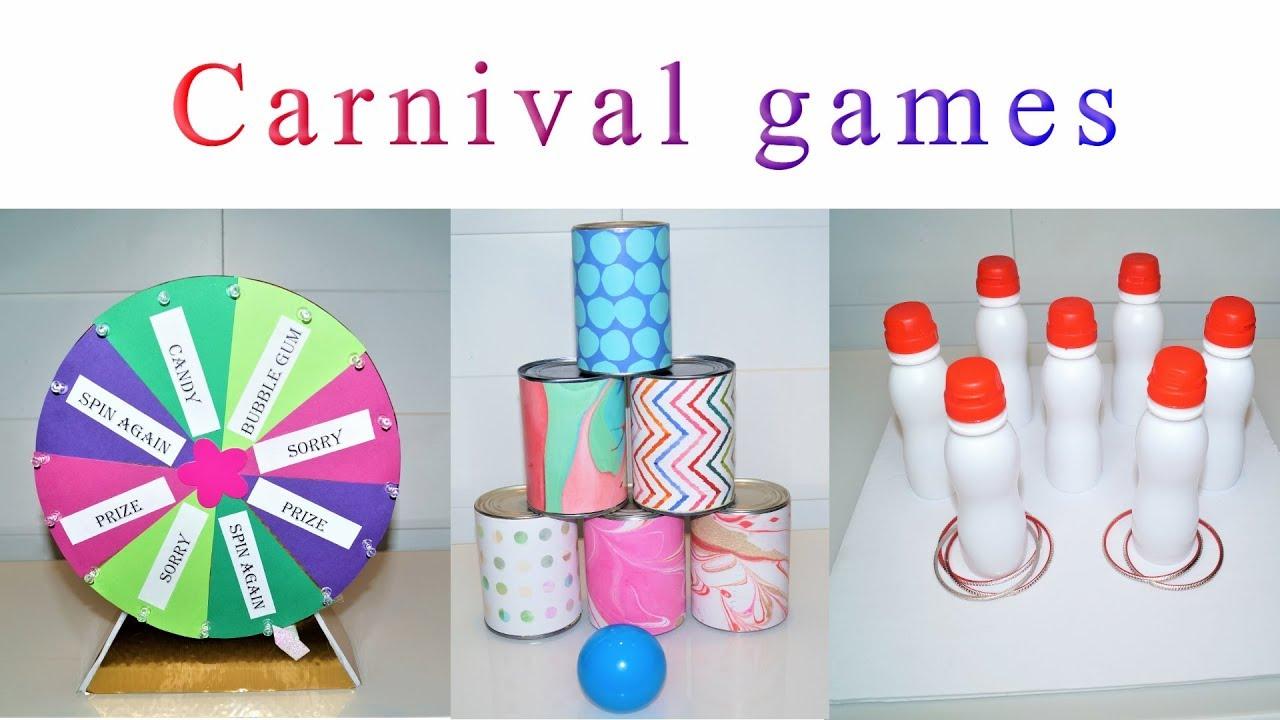 DIY party decorations | DIY CARNIVAL GAMES | Sugarella Sweets Party