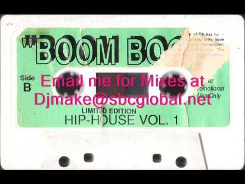 Boom Boom Hip House Vol 1 - Tony Badea Chicago Mix 90's