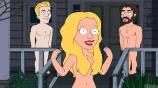Family Guy - Peter Falls Down The Stairs UNCENSORED! (All Scenes)
