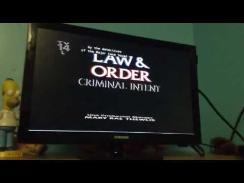 law and order criminal intent opening voice intro lyrics