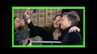 Argentina's leader, mauricio macri, bolstered by election results
