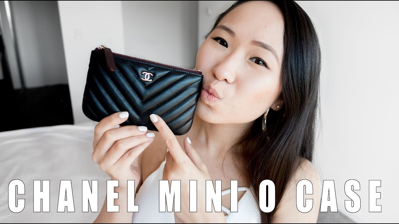c93fc685337c CHANEL MINI O CASE - Review and What fits inside - YouTube