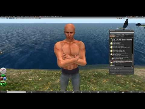 Second Life- Customizing Your Avatar