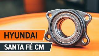 Jak wymienić Zestaw łożysk koła HYUNDAI SANTA FÉ II (CM) - przewodnik wideo