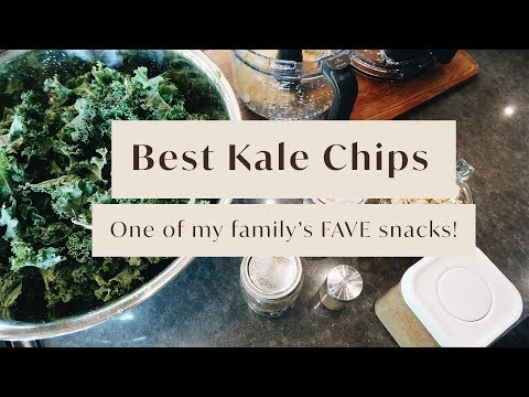 The BEST Kale Chips - One Of My Family's FAVE Snacks!