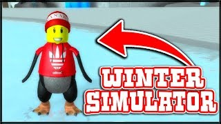WIE DID THE PENGUIN BECOME A GINGERBREAD!!! -BROKEN SPIEL? (Roblox Winter Simulator 2)