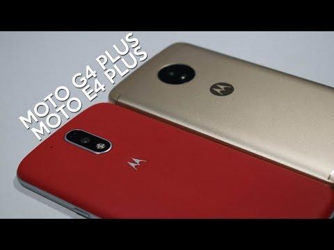 Moto G4 Plus vs Moto E4 Plus - Comparativa