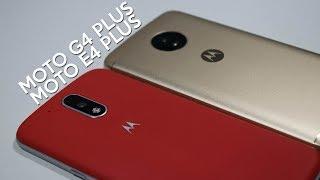 Moto G4 Plus vs Moto E4 Plus - Comparativa Video