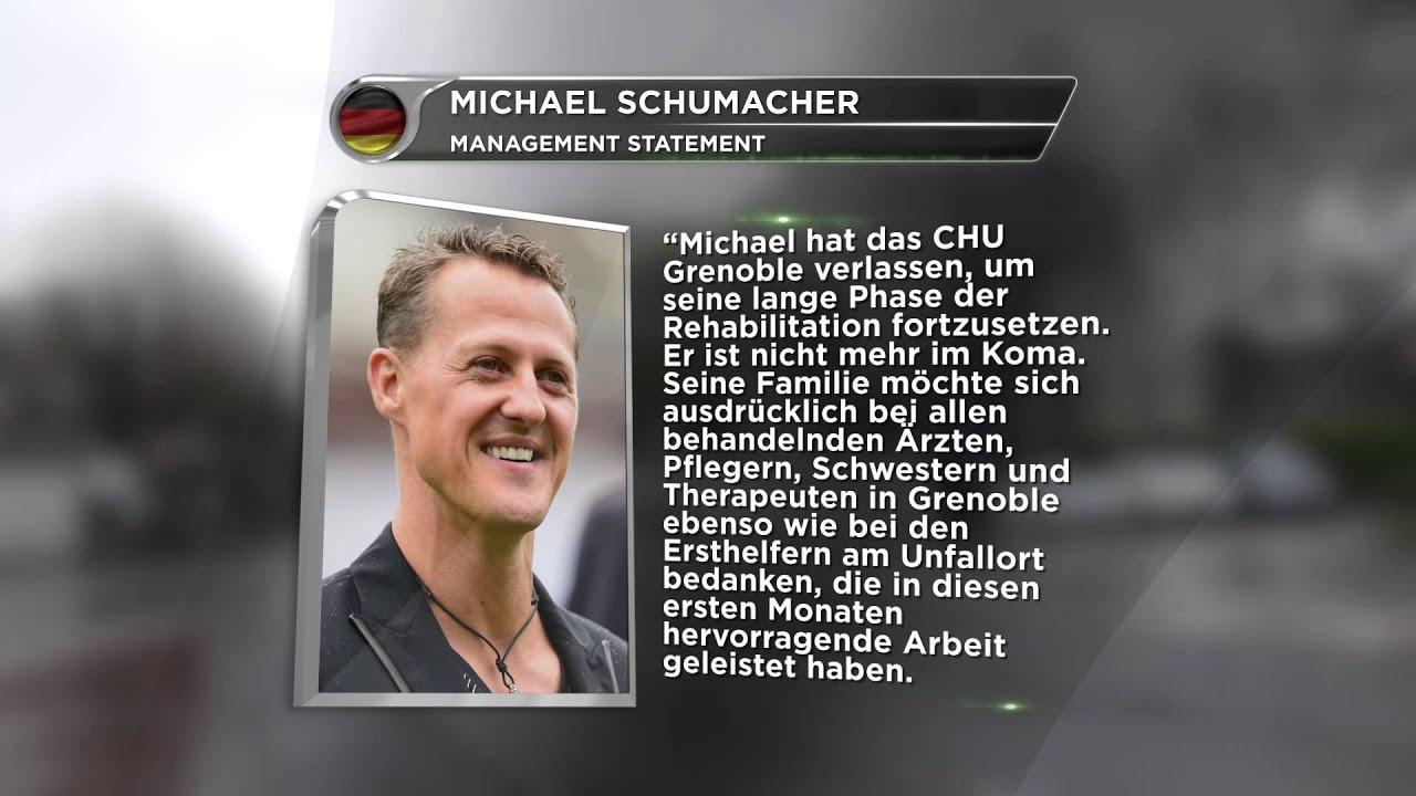 Michael Schumacher Aus Koma Erwacht