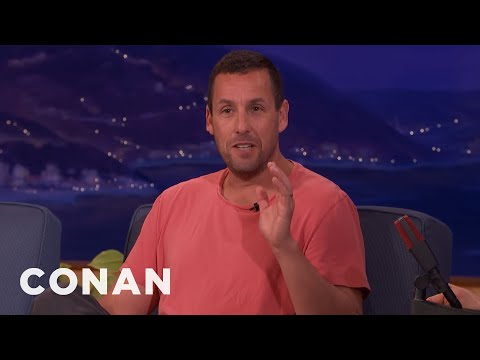Harrison Ford Asked Adam Sandler To Wash His Car   CONAN on TBS