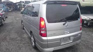 Видео-тест автомобиля Nissan Serena (серебро, Tnc24-400797, Qr20de, 2004г)