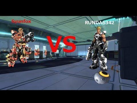 FireFall Pvp Jetball Rundas342 Vs Syunfox (Assault Vs FireCat) THIS IS TOTALLY BALANCED! :D
