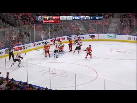 Ottawa Senators vs Edmonton Oilers 10-14-17 Derek Brassard PP GOAL