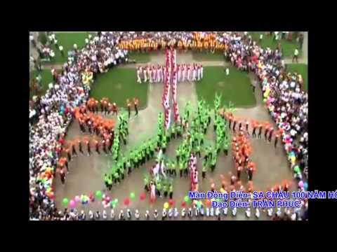 Màn Đồng Diễn SA CHÂU 100 NĂM HỒNG ÂN - Đạo diễn TRẦN PHÚC