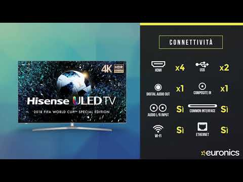 Hisense | Smart TV ULED 4K UHD HDR | H50U7A