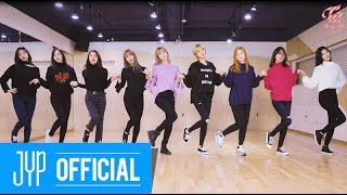 TWICE 1 TO 10 Dance Practice Video