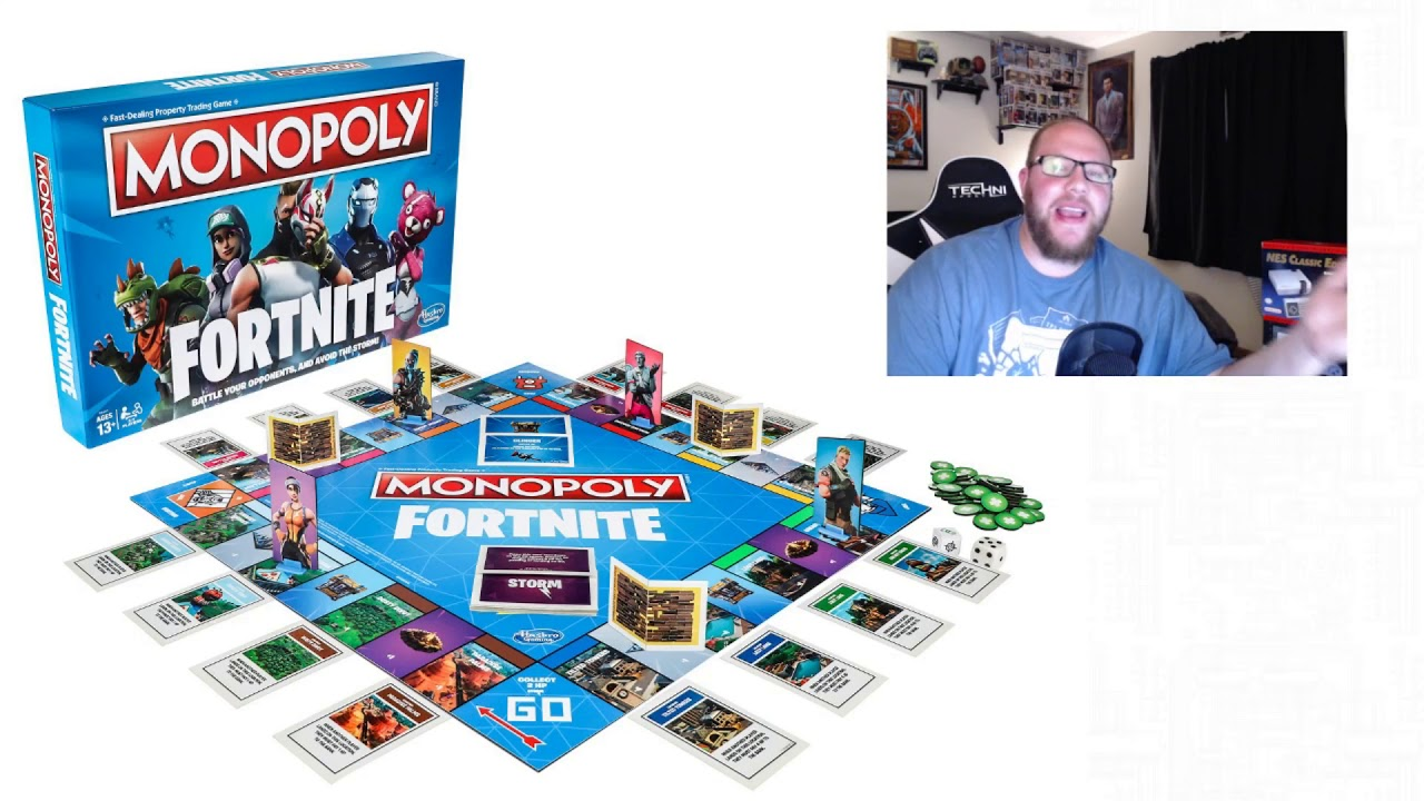 Fortnite Monopoly Announced Youtube