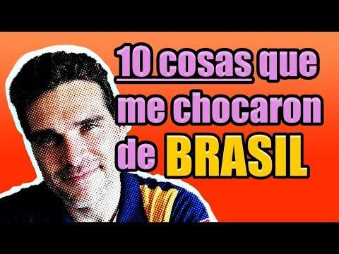 10 COISAS Que Me SURPRENDERAM  Do BRASIL #1 |  10 COSAS Que Me CHOCARON  De BRASIL #1