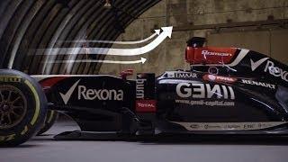 F1 Aerodynamics Broken Down   One Second in... F1   CNBC International