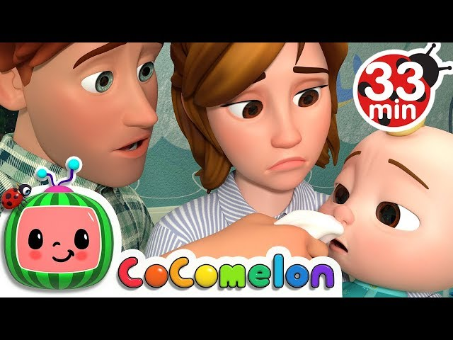 Sick Song + More Nursery Rhymes & Kids Songs - CoComelon