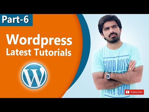 Wordpress tutorials in hindi & urdu   wordpress Pages   Part 6 thumbnail