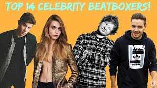 Top 14 Celebrity Beatboxers! (Liam Payne, Shawn Mendes, Charlie Puth.. AND MORE!)