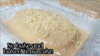 No bake and Baked Yema Cake