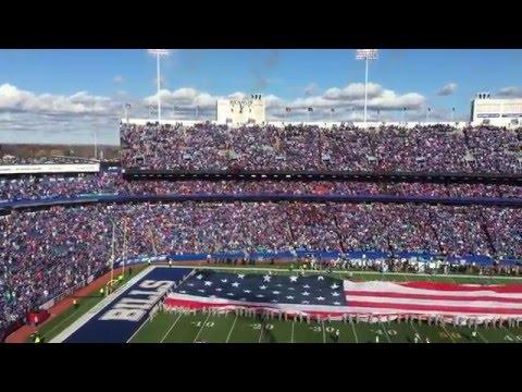 Buffalo Bills - Ralph Wilson Stadium Jet Flyover -  11 8 15