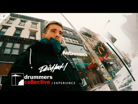 The Collective School of Music NYC 2018 - Deivhook Experience [Drummers Collective]