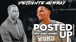 Dejounte Murray on the NBA's return and America's racial awakening | Posted Up With Chris Haynes
