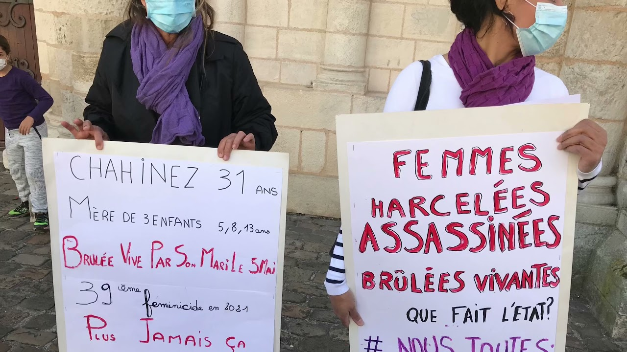 Vidéo. Poitiers : un rassemblement à la mémoire de Chahinez brûlée vive à Mérignac