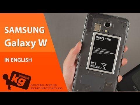 [EN] Samsung Galaxy W Unboxing