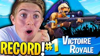 J'AI BATTU MON RECORD DE VIEWERS EN LIVE GRÂCE A CE TOP 1 SUR FORTNITE BATTLE ROYALE !!!
