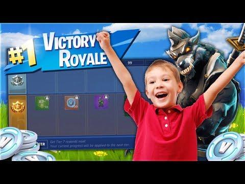 קונה לאחי הקטן את הבאטל פאס אם הוא מנצח משחק בפורטנייט! (פרק 3)