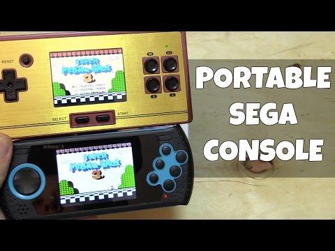 Handheld Sega Genesis System