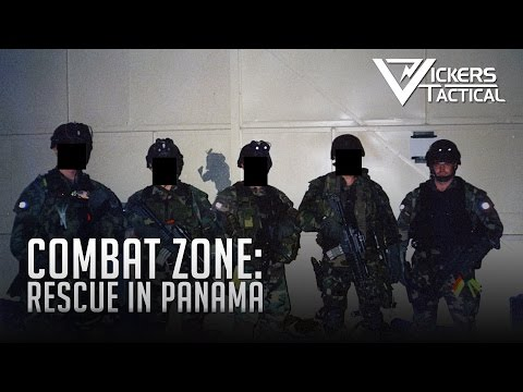 Combat Zone: Rescue in Panama featuring Larry Vickers
