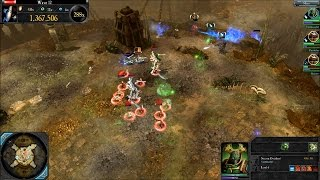Dawn of War 2 Retribution Last Stand: Necron Overlord Early Build