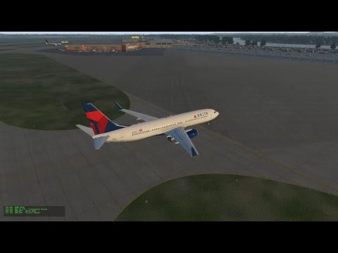 X-Plane 11 - Minneapolis to Omaha (LIVE on VATSIM)