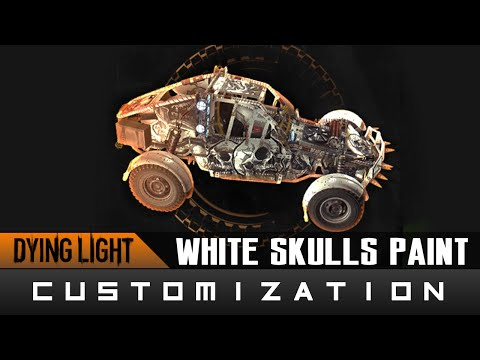 Dying Light: The Following - White Skulls Paint Job Location Guide