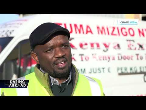 How Morris Njuguna established a shipping business in the UK