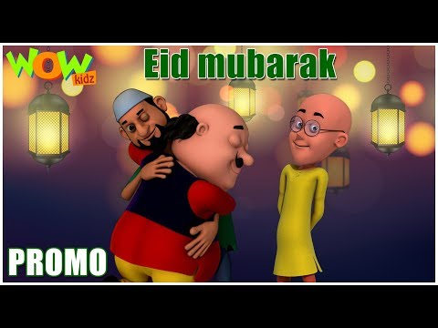 Eid Mubarak | Motu Patlu - Promo | Urdu Cartoons for Kids | Wow Kidz thumbnail
