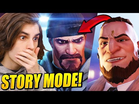 Overwatch Archives Retribution Gameplay! & NEW STORY MODE!