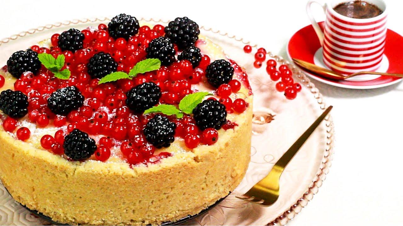 Fruchtiger Vanillepudding Beerenkuchen Youtube