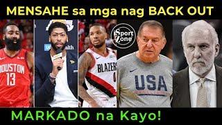 USA Talo na naman sa Serbia! NBA Players na NAG BACK OUT Markado Na!