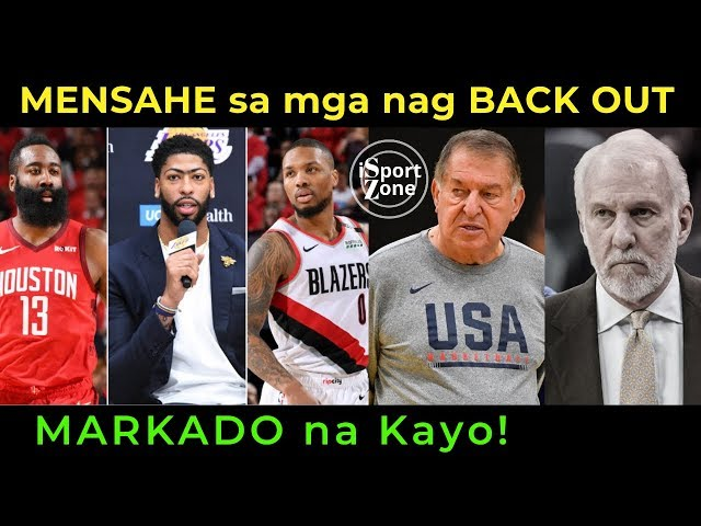 USA Talo na naman sa Serbia! NBA Players na NAG BACK OUT Markado Na!