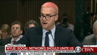 Cambridge Analytica whistleblower Christopher Wylie testifies before Senate committee