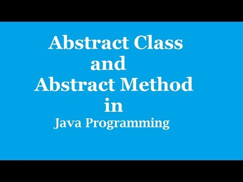 abstract-class-in-java-with-example what-is-abstract-class-and-abstract-method java-programming-2018