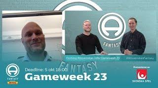 FanTV Allsvenskan Fantasy: Gameweek 23